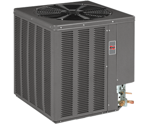 Ruud outdoor condensing units are super quiet and reliable.